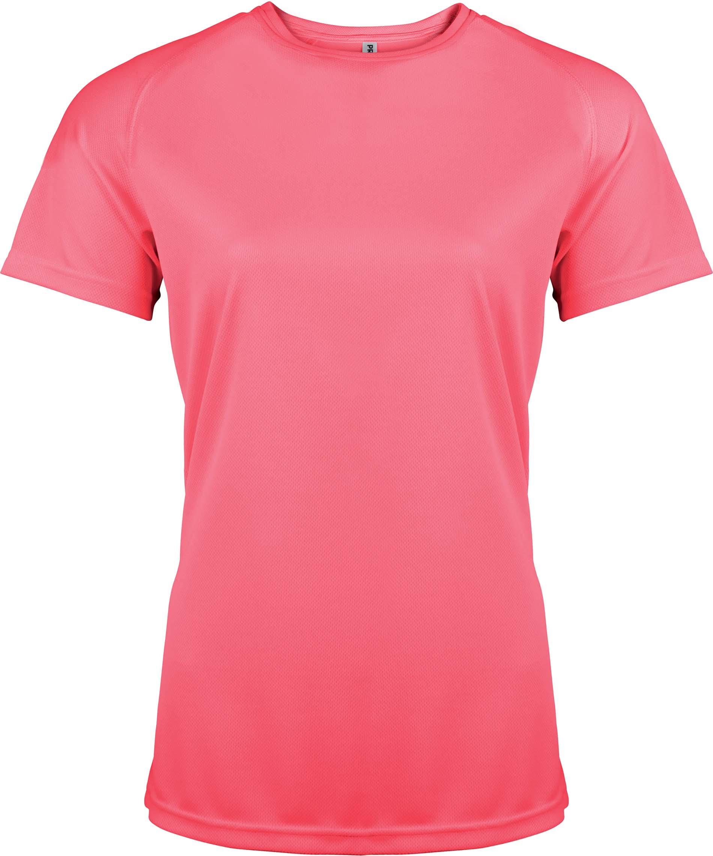 Naisten tekninen T-paita PA439 Neon Pink