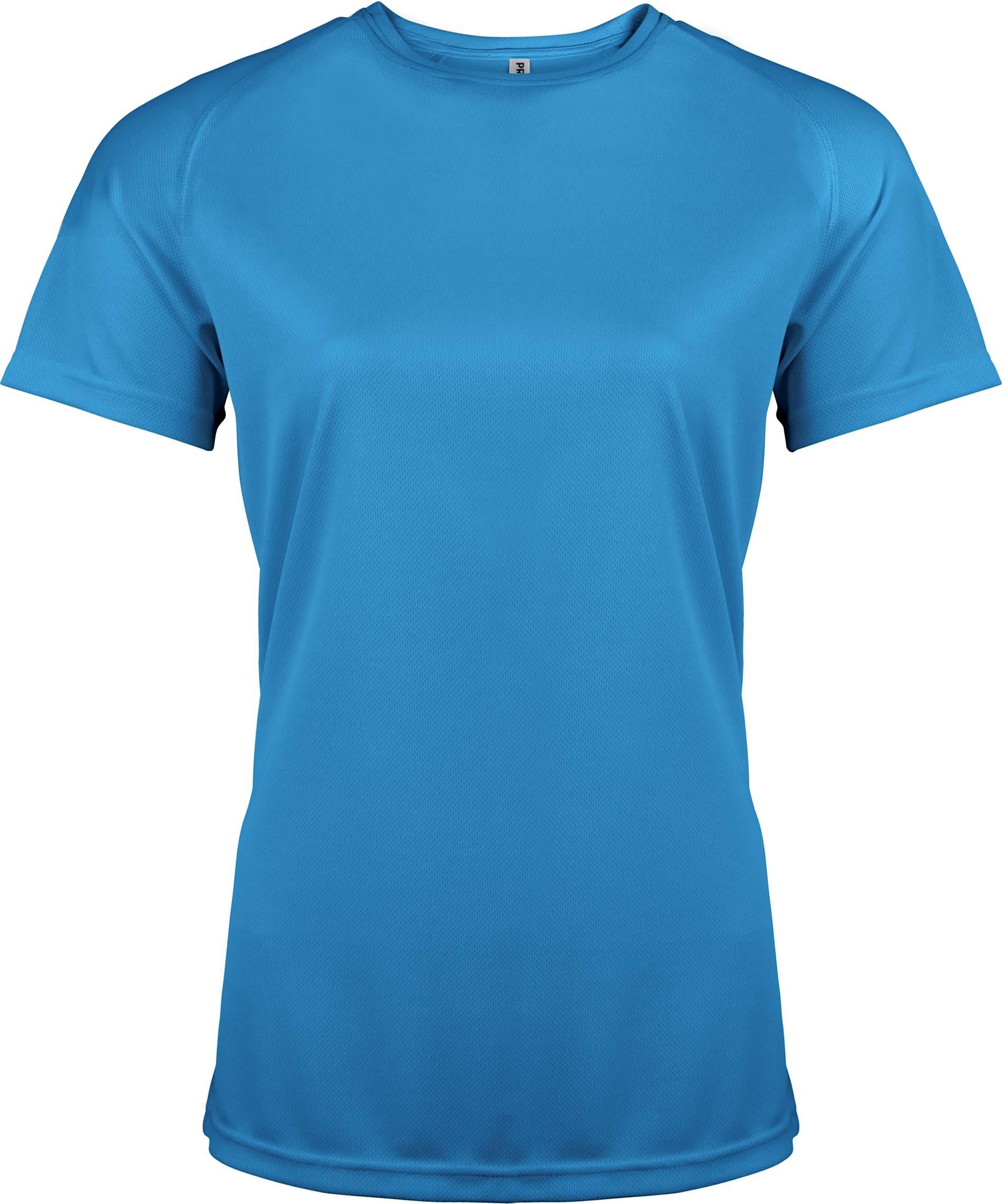 Naisten tekninen T-paita PA439 Aqua