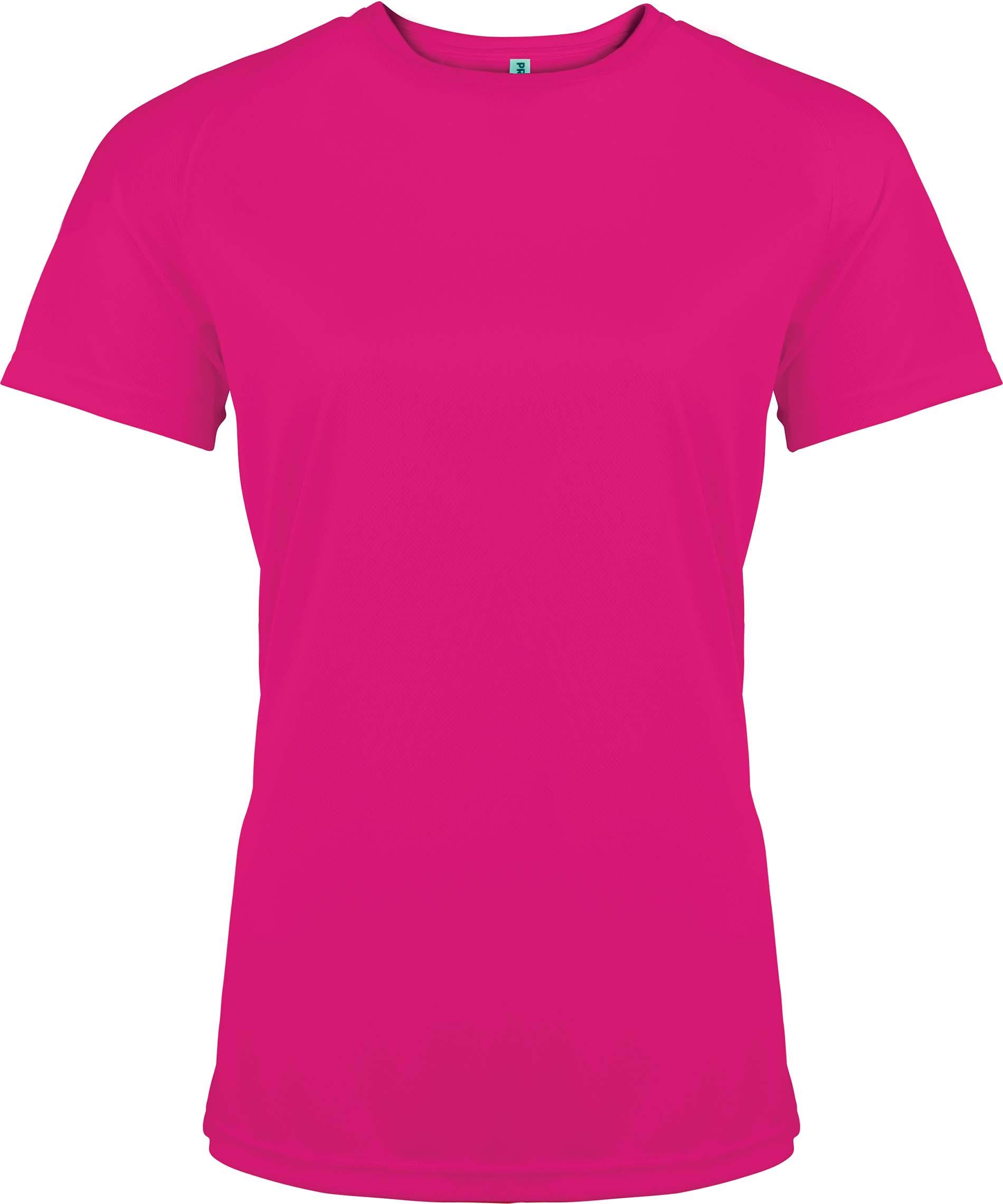 Naisten tekninen T-paita PA439  Fuksia