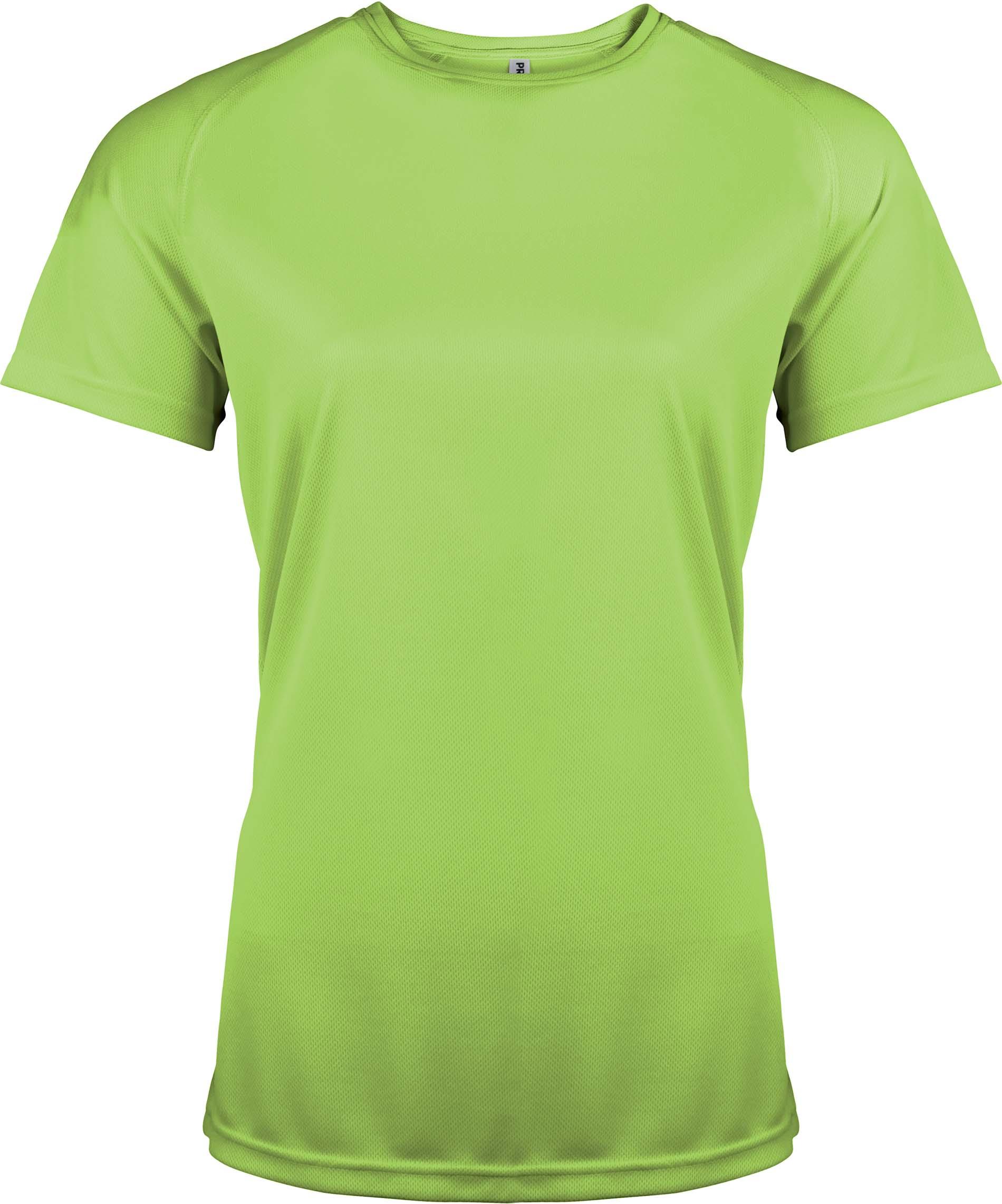Naisten tekninen T-paita PA439 Lime