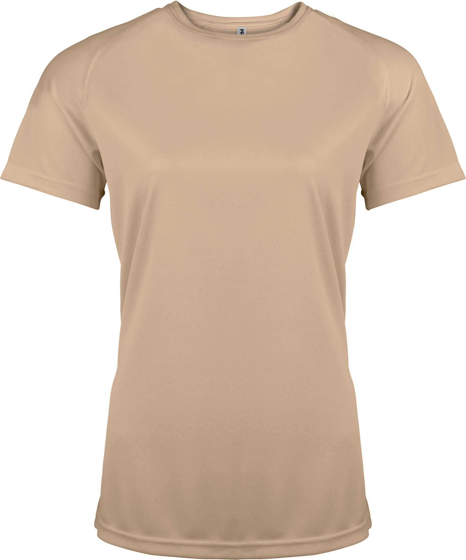 Naisten tekninen T-paita PA439 Sand