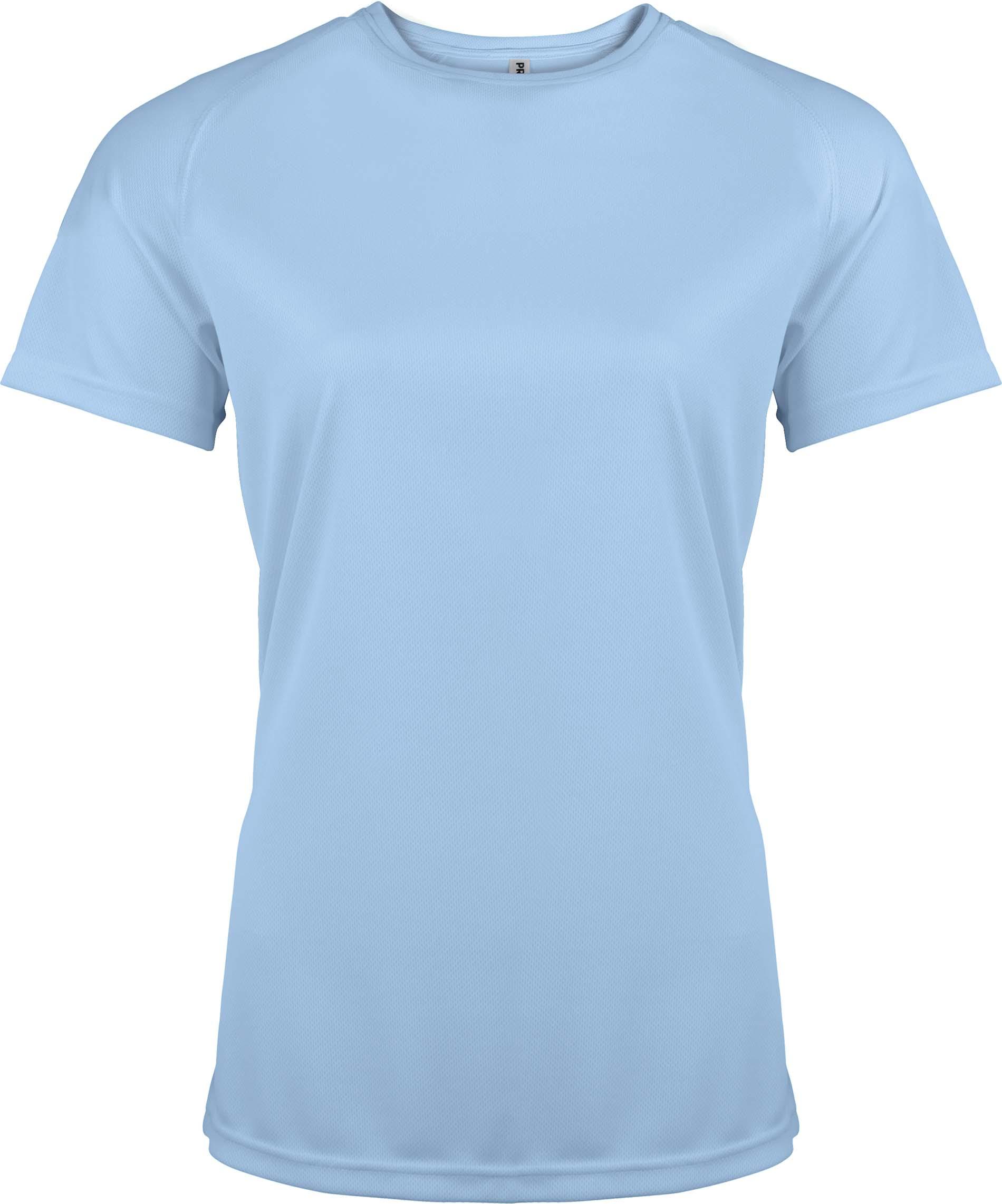 Naisten tekninen T-paita PA439 Sky Blue