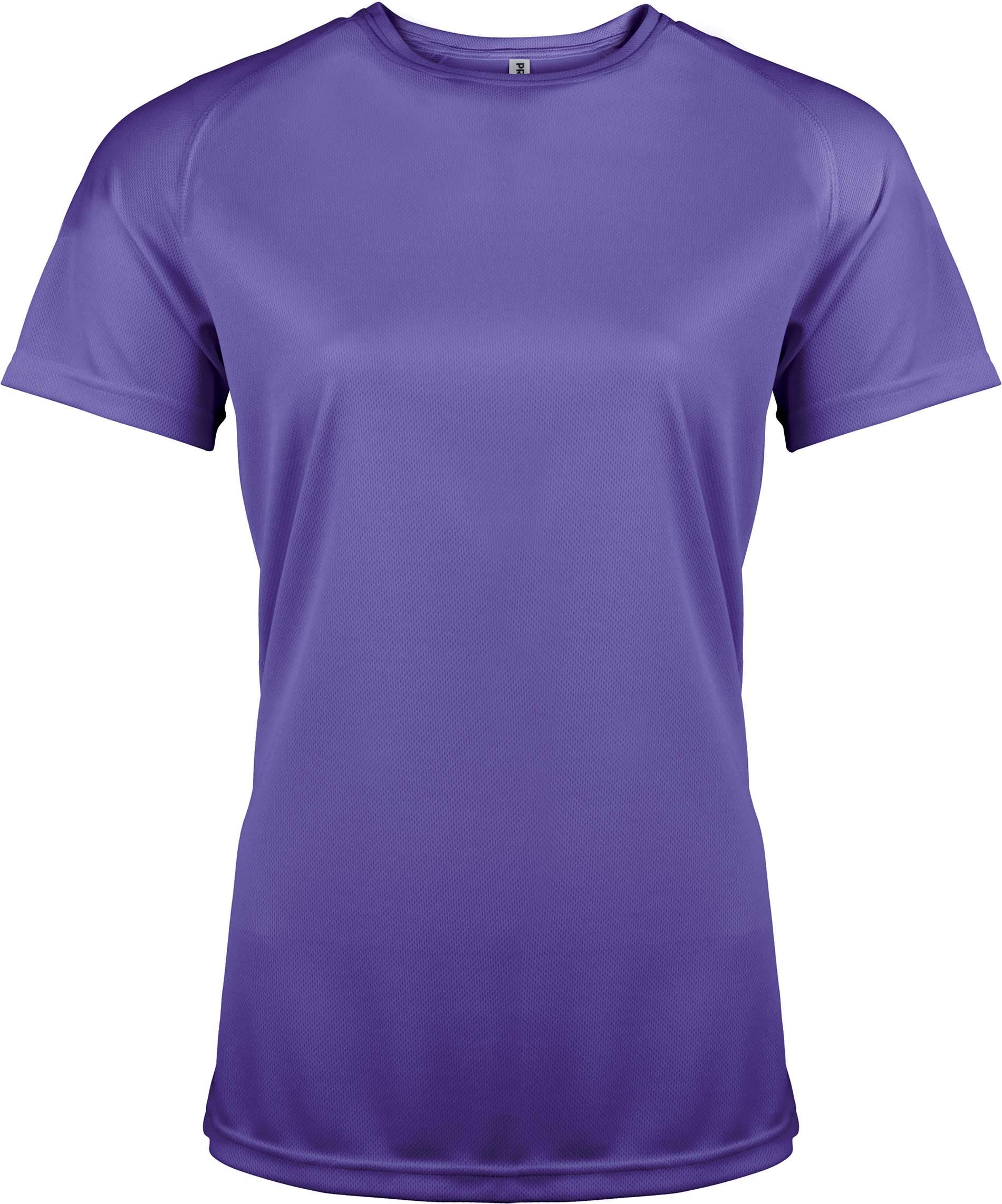 Naisten tekninen T-paita PA439 Violetti