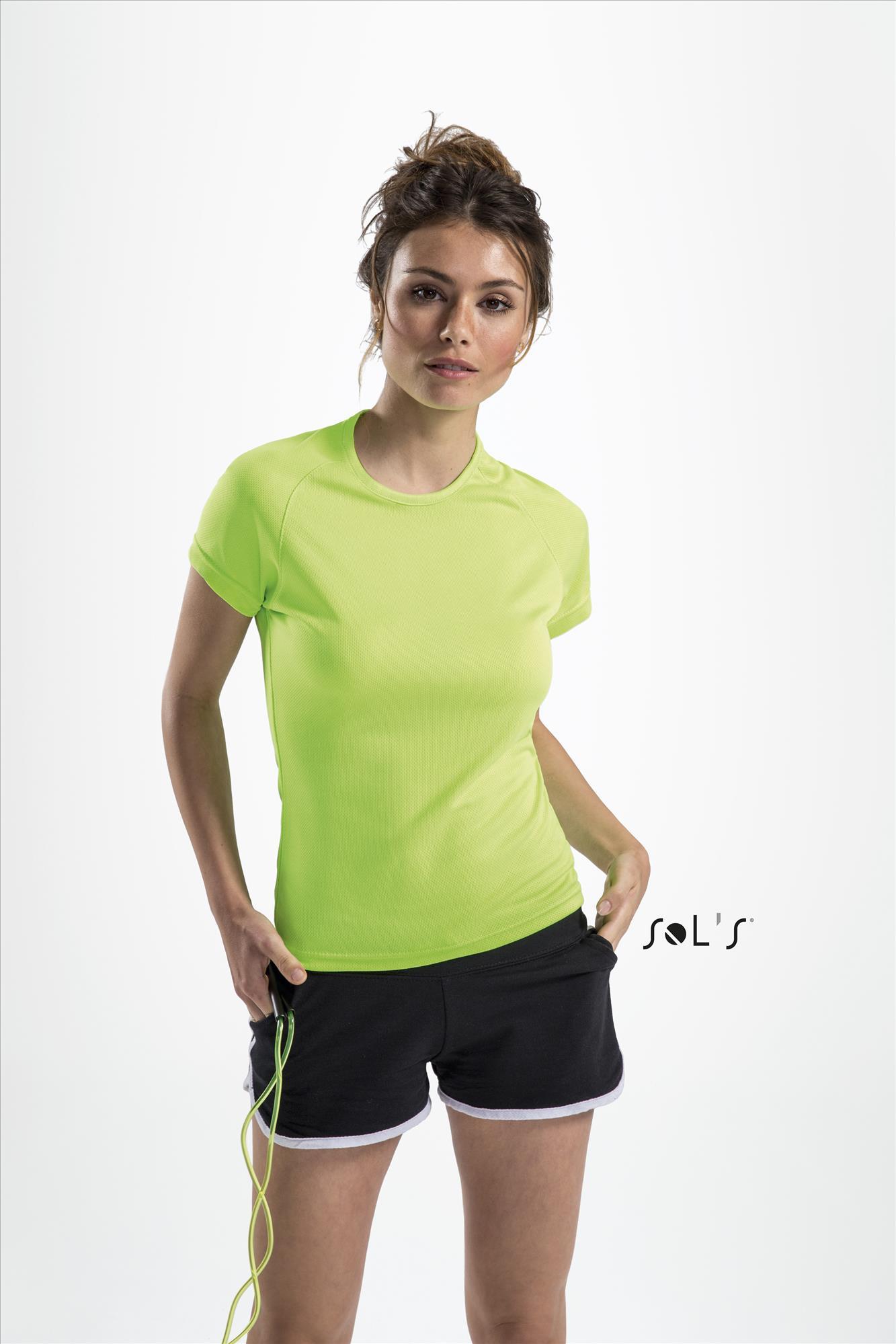Sols Sporty naisten tekninen t-paita